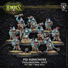 Trollblood Pyg Burrowers
